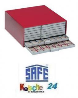 SAFE 6200 BEBA Münzkasten MINI Gehäuse Rot leer - Vorschau