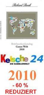 Borek Briefmarkenkatalog Ganze Welt 2010 AUTOS