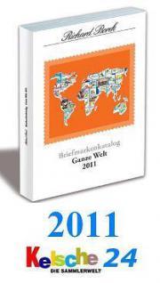 Borek Briefmarkenkatalog Ganze Welt 2011 NEU PORTOF