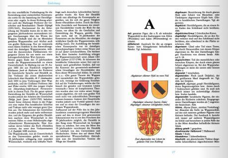 Battenberg Lexikon der Heraldik - Vom Apfelkreuz bis Zwillingsbalken - Wappenkunde - Vorschau 2