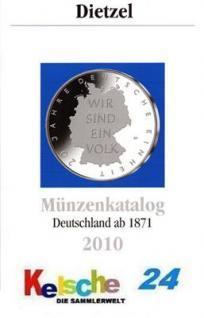 Dietzel Münzkatalog Deutschland ab 1871 bis 2010 NE - Vorschau