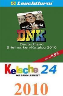 Leuchtturm DNK Briefmarkenkatalog Deutschland 2010