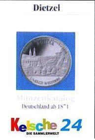 Dietzel Münzenkatalog Deutschland ab 1871 - 2008 -3