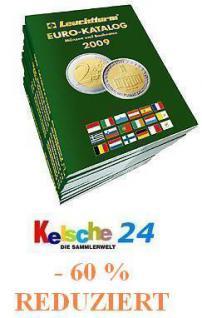 Leuchtturm EUROmünzen Katalog mit Banknoten 2009 -