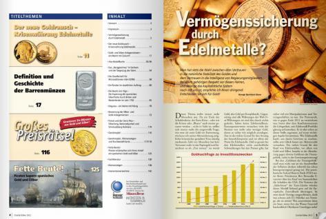 GIETL Münzen Revue Gold & Silber Sonderheft 2012 Boom - Münzkatalog - PORTOFREI in Deutschland - Vorschau 2