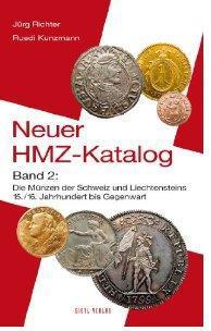 Gietl Neuer HMZ Katalog Band 2 Die Münzen der Schweiz u. Liechtensteins 15./16. Jhd. - 2011 PORTOFREI in Deutschland
