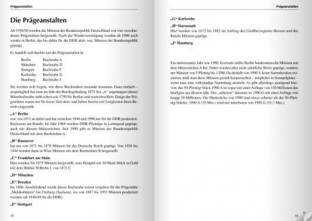 GIETL M & S Edition Die Deutsche Mark Wissenswertes und Interessantes über die bundesdeutschen Kursmünzen 2. Auflage Michael D. Lütgemeier - 2010 - PORTOFREI in Deutschland - Vorschau 3