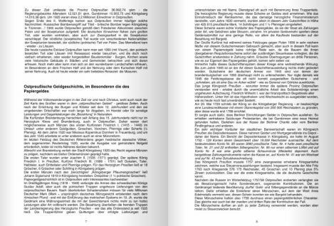 Ostpreußisches Papiergeld Notgeld Ostpreussen Banknotenkatalog 1. Auflage Klaus-Jürgen Karpinski 2009 PORTOFREI in Deutschland - Vorschau 3