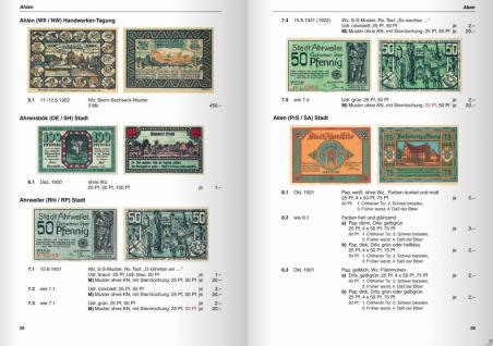 Gietl Deutsche Serienscheine 1918-1922 Deutsches Notgeld Band 1-2 Grabowski / Mehl 3. Auflage - 2009 in Farbe PORTOFREI in Deutschland - Vorschau 4