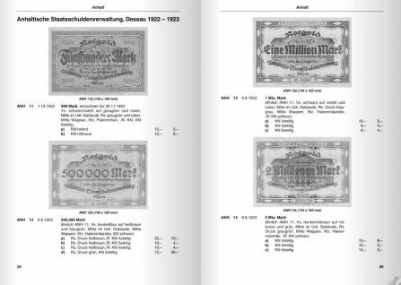 Das Papiergeld der deutschen Länder 1871 - 1948 Provinzen u. Bezirke Deutsches Notgeld Bd 10 - 2. Auflage - H.L. Grabowski - 2006 PORTOFREI in Deutschland - Vorschau 5