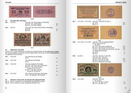 Gietl Deutsche Kleingeldscheine 1916-22 Notgeld Bd 5-6 Amtliche Verkehrsausgaben 1. Auflage H.L. Grabowski - in Farbe - 2004 - PORTOFREI in Deutschland - Vorschau 4