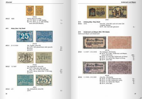 Gietl Deutsche Kleingeldscheine 1916-22 Notgeld Bd 5-6 Amtliche Verkehrsausgaben 1. Auflage H.L. Grabowski - in Farbe - 2004 - PORTOFREI in Deutschland - Vorschau 5