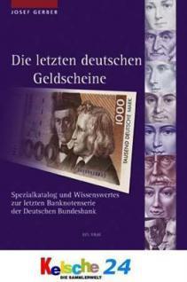 Gietl Gerber Die letzten deutschen Geldscheine Kat.
