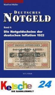 Gietl Bd 4 Die Notgeldscheine deutschen Inflation 1