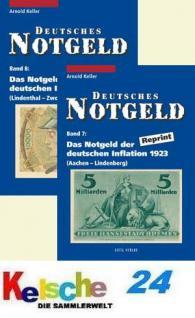 Gietl Keller Bd 7+8 Notgeld d deutschen Inflation 1
