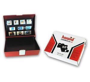 HAWID 560 Kassette (leer) für 100 Auswahlkarten / Einsteckkarten A6 / C6 Format - Vorschau