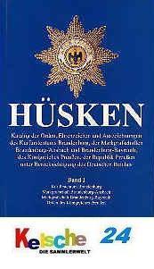 HÜSKEN Preußen Band I Orden & Ehrenzeichen 1 NEU