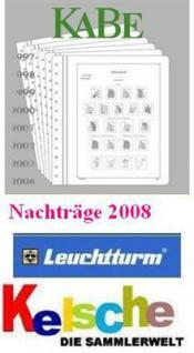 KABE Nachtrag Deutschland bi-collect o.T. 2008 + Bo
