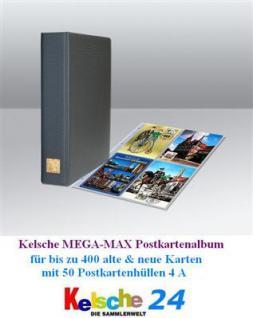 Kelsche Postkartenalbum MEGA + 25 Hüllen bis 200 Ka - Vorschau