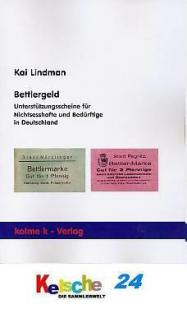 Lindman Bettlergeld Unterstützungsscheine Nichtsess