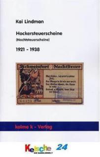 Lindman Hockersteuerscheine Nachtsteuerscheine 1921
