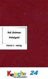 Kolme Kai Lindman Das Hotelgeld der DDR 2007