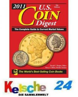 Krause USA Coin Digest Münzkatalog 2011 + Kolonien