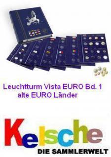 LEUCHTTURM Euro Münzalbum Vista Bd. 1 Alte Euro-Län