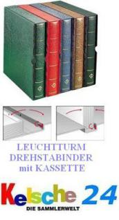 LEUCHTTURM Drehstabbinder DPKA Perfect + Kas. BRAUN Nr.303418