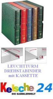 LEUCHTTURM Drehstabbinder DPKA Perfect + Kas. Schwarz Nr. 313087