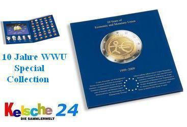 LEUCHTTURM Münzalbum Presso EURO COLLECTION 2 Euromünzen 10 Jahre WWU 2009 EUROCOL2EUEMU - 326564 - Vorschau