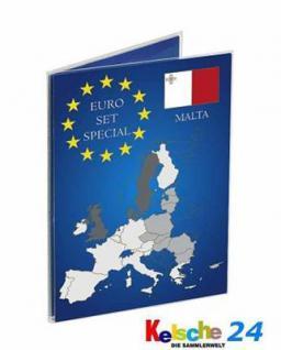 LEUCHTTURM EURO Folder KMS Klappkarten MALTA Set 2x