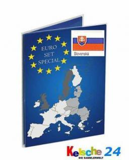 LEUCHTTURM SLOWAKEI Sammelkarten EURO Folder 2 St