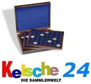 LEUCHTTURM Holz Münzkassetten HMK 105x2 EURO 3 Tableaus 303369
