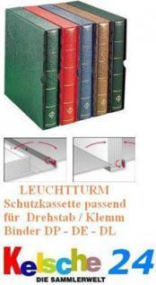 LEUCHTTURM Schutzkassette KA f Binder DP-DE-DL Grün Nr. 317192
