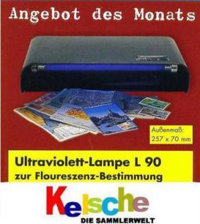 LEUCHTTURM L90 Geldscheinprüfer UV-Prüfgerät 6 W N - Vorschau