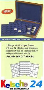 LEUCHTTURM Münzkassette VOLTERRA TRIO MIX MK3TMIX -