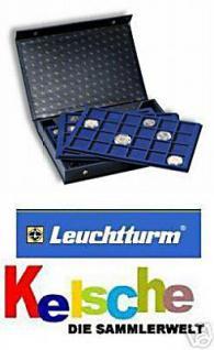 LEUCHTTURM 330921 Münzkassetten L mit 4 Tableaus Standard für 128 Münzen - Vorschau