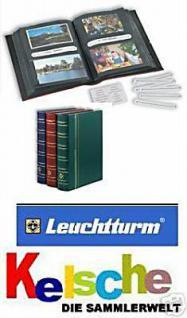 LEUCHTTURM 336487 Vielzweckalbum Album MULTI G Ansichtskarten Banknoten Grün