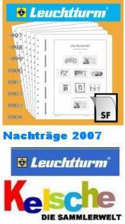 LEUCHTTURM Nachtrag Deutschland mit Taschen 2007 +B