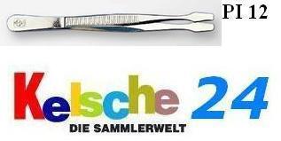 LEUCHTTURM Pinzetten 12cm Standard Gerade Schaufel