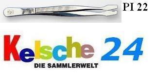 LEUCHTTURM Pinzetten 12cm Gebogen Schaufel PI22