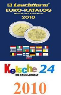 LEUCHTTURM MÜNZKATALOG EURO 2010 PORTOFREI NEU
