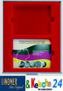 Lindner 2803 d-box Sammelbox Münzbox für original Deutsche 10 EURO Gedenkmünzen Sets