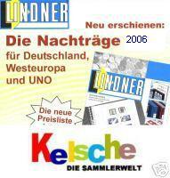 LINDNER Nachtrag Deutschland T120 b/05 2006 +BONUS