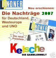LINDNER Nachtrag Deutschland doppelt T 2007 + Bonu