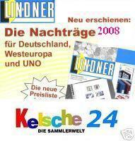 LINDNER Nachtrag Nachträge Deutschland 2008 + BONUS