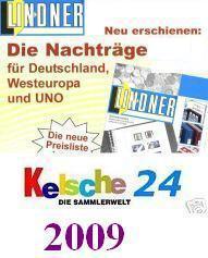LINDNER Nachträge Deut.Briefganzsachen 2009 T120b/B