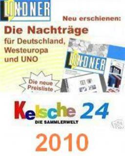 LINDNER Nachtrag Schweiz Zusammendrucke 2010 T260z/