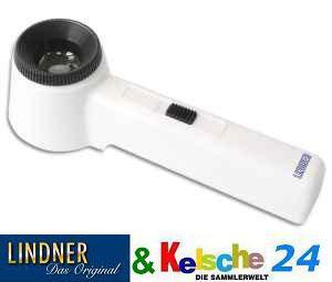 LINDNER LEUCHTLUPE 10 fache Vergrösserung S65